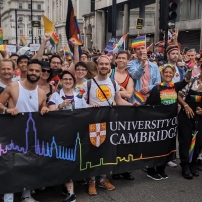 University of Cambridge at London Pride 2019